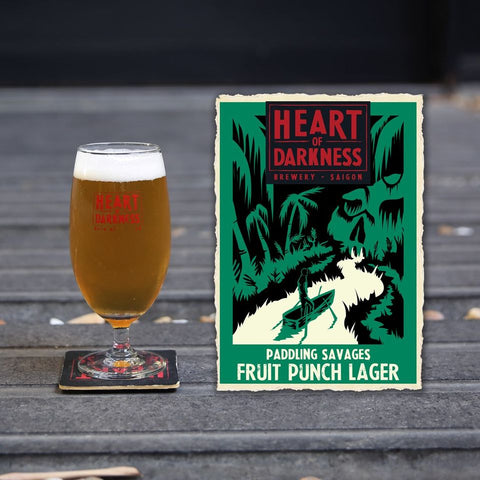 Paddling Savages Craft Beer Heart of Darkness