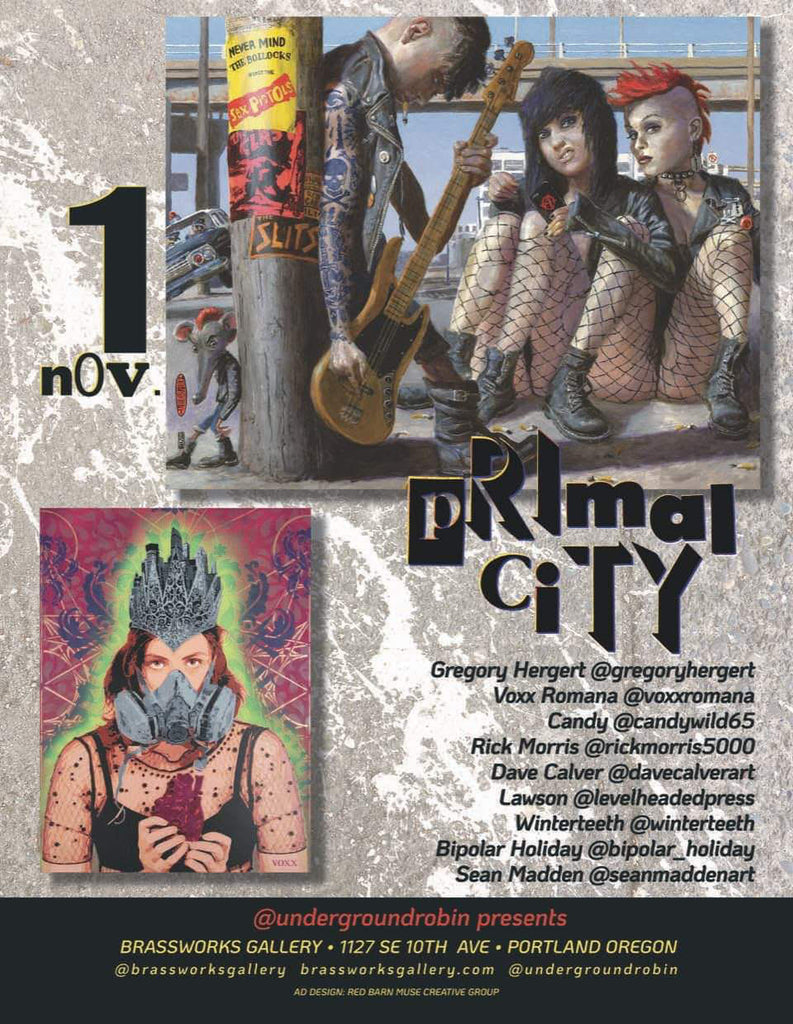 Primal City Group Show at Brassworks Gallery