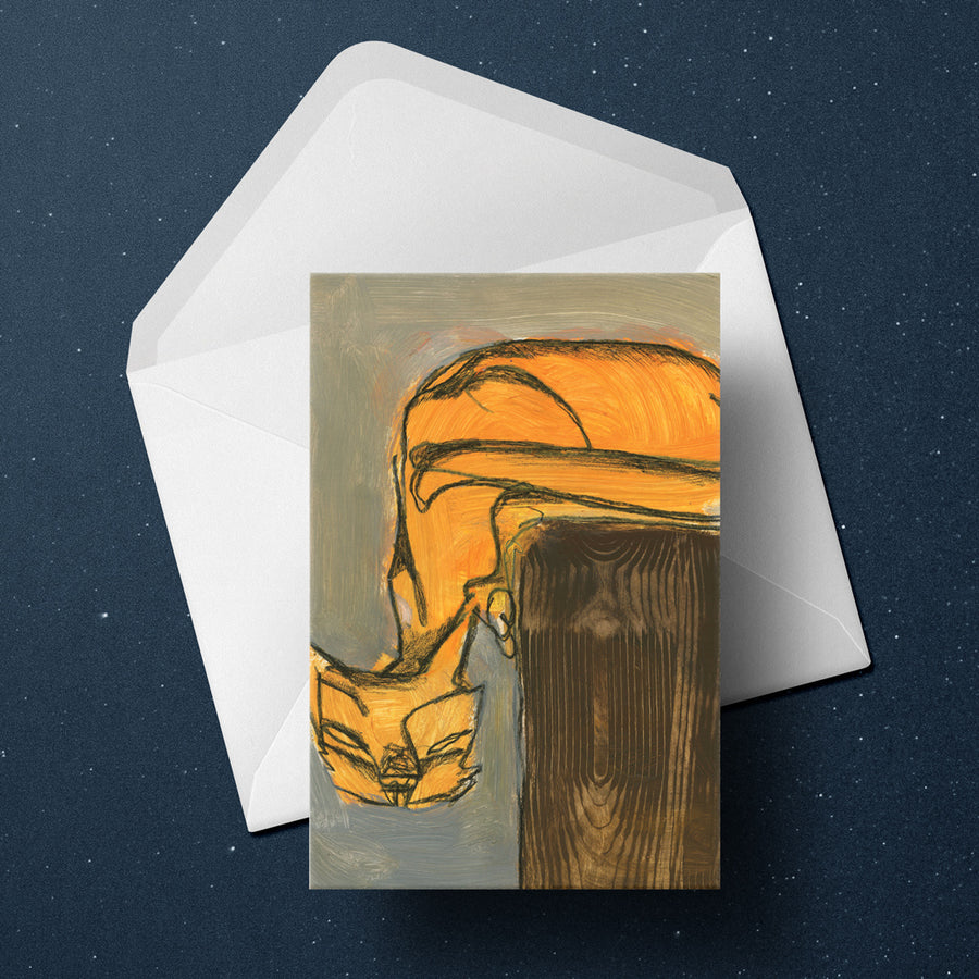 Abstract Cat Cards