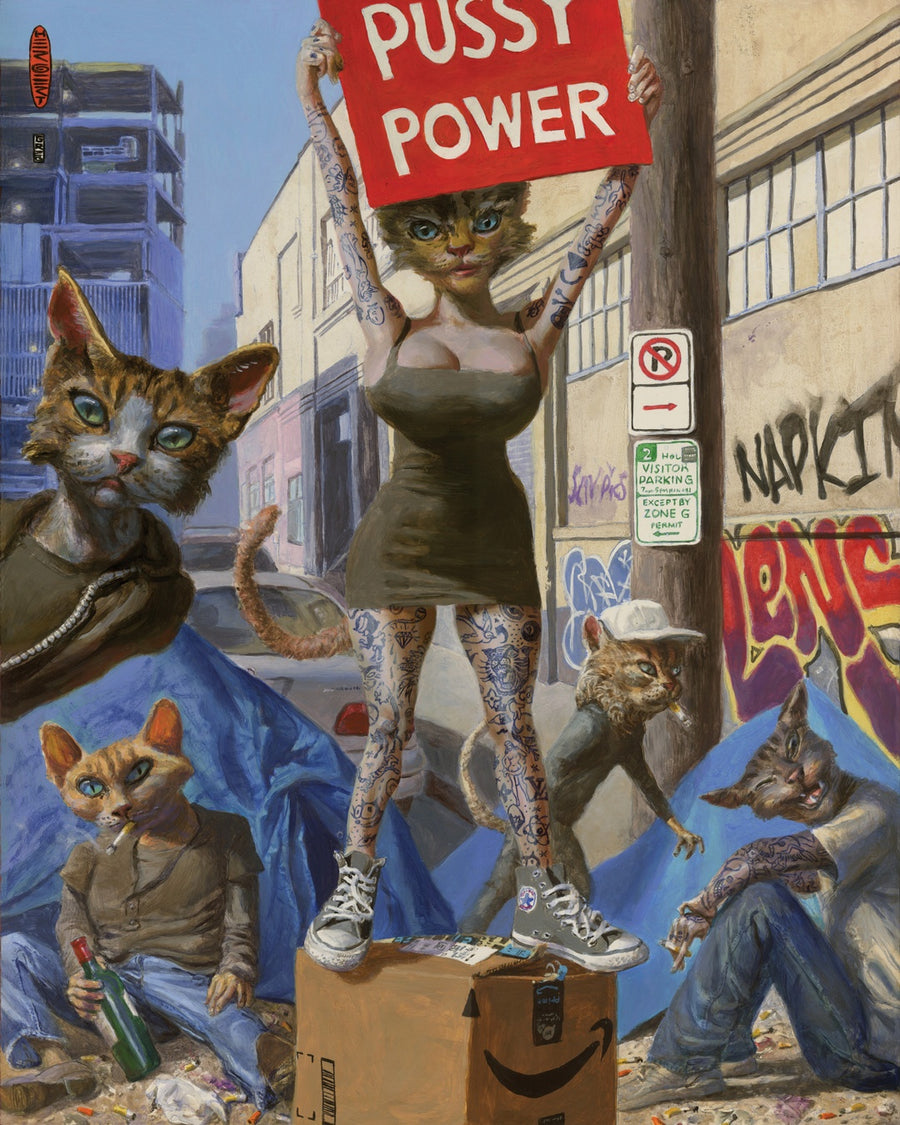 Pussy Power - Gregory Hergert