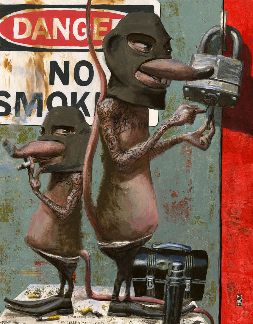 No Smoking - Gregory Hergert