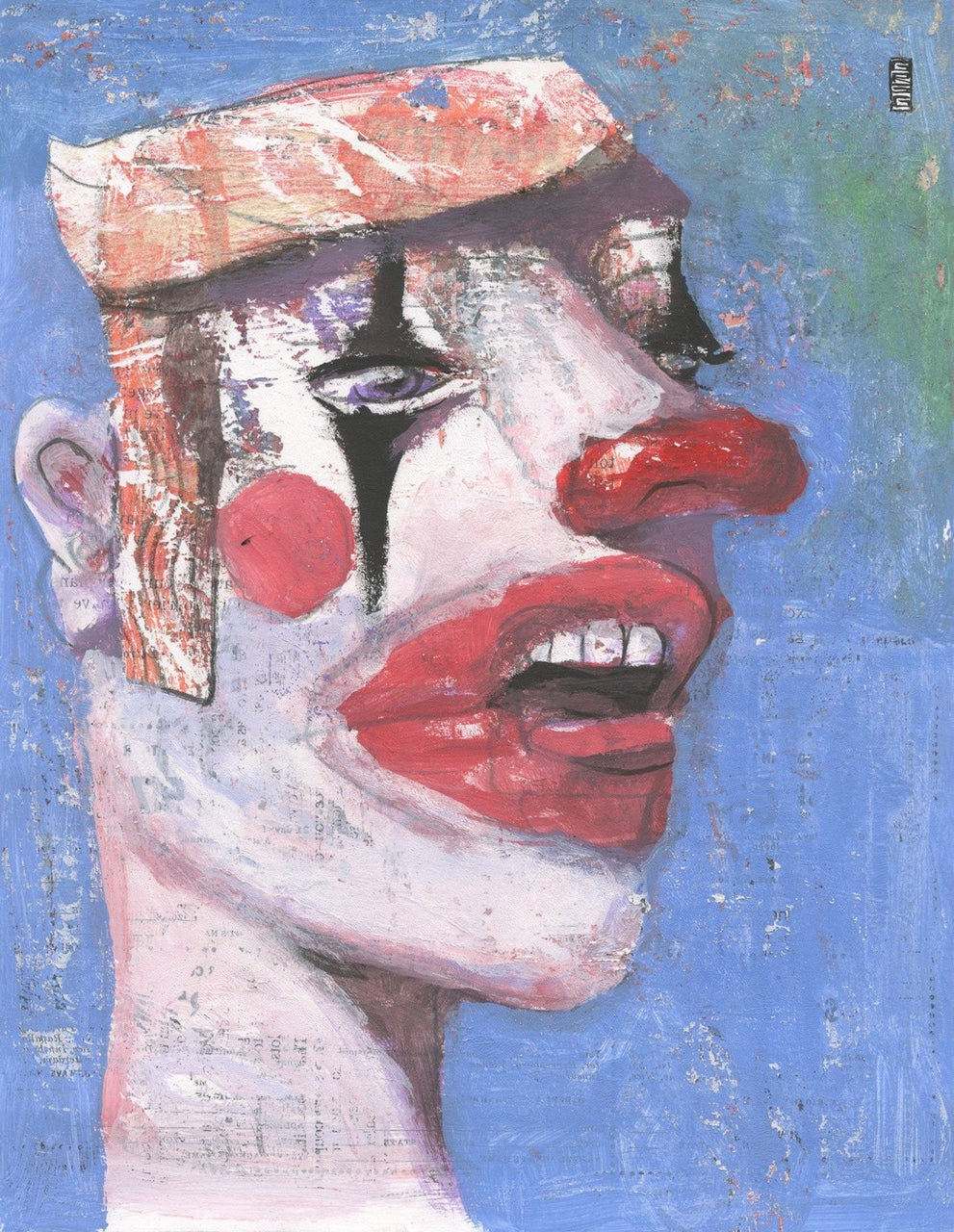 Singing Clown - Gregory Hergert