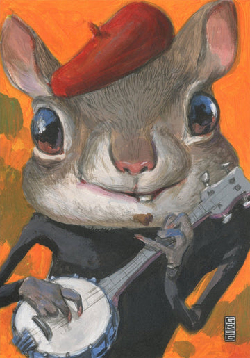 Squirrely Banjo - Gregory Hergert