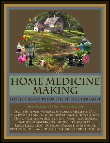 Home Medicine Making: Kitchen Remedies for Village Herbalists EBOOK