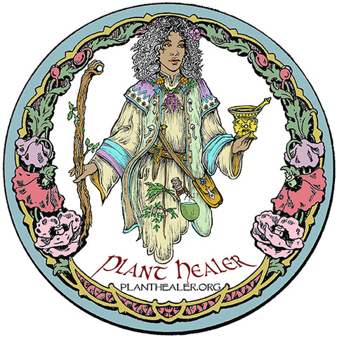 "Plant Healer ""Stained Glass"" Window-Clings"