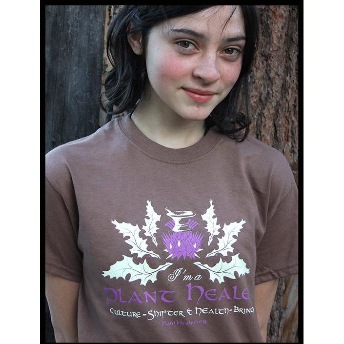 Thistle & Mortar Chestnut Tee