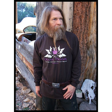Thistle & Mortar Dark Chocolate Long Sleeved Tee