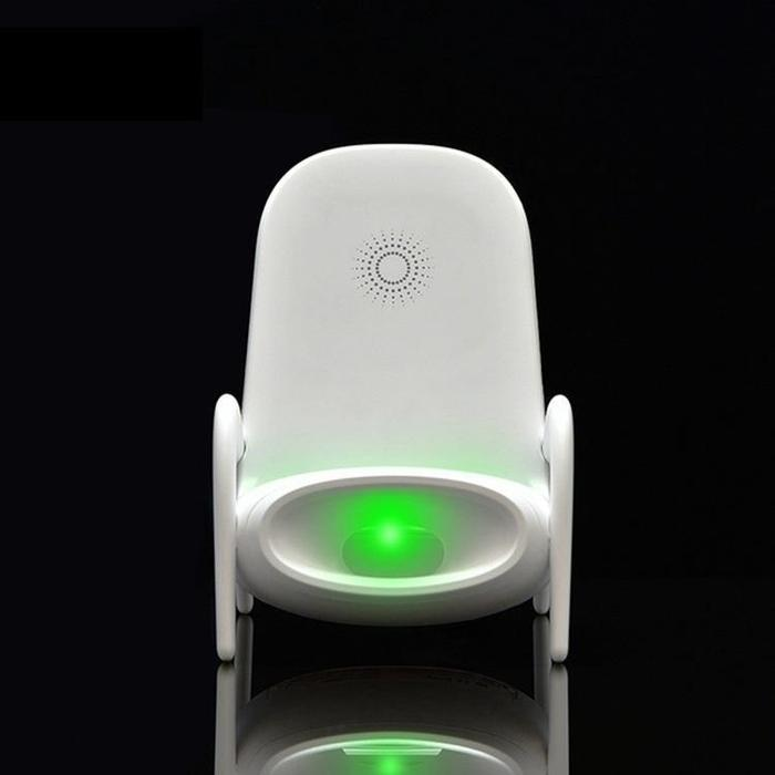 Chair Shape Loudspeaker & Wireless Fast Charging