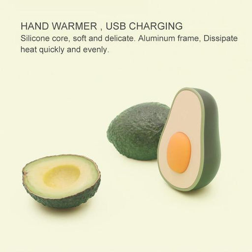 2 IN 1 Cute Avocado Handy Warmer