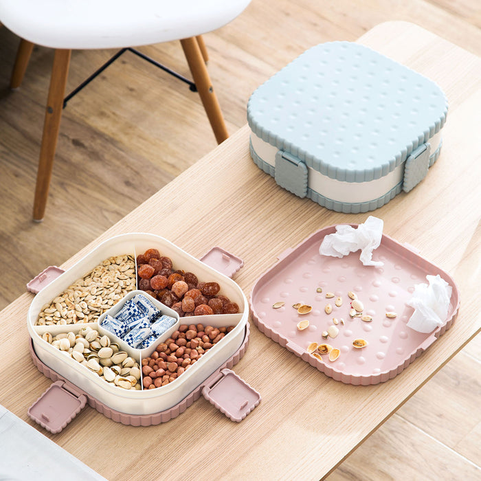 Shaped Snack Serving Tray