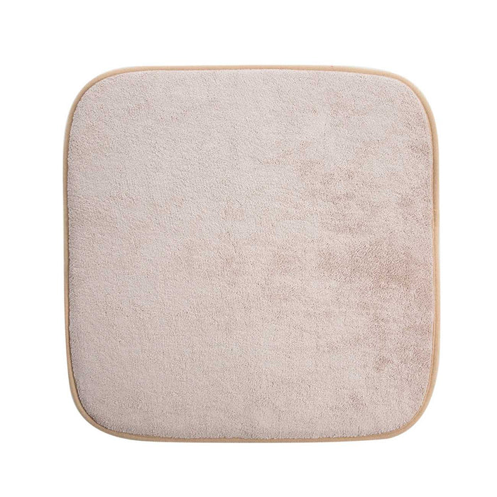 Coral Velvet Sponge Chair Cushion
