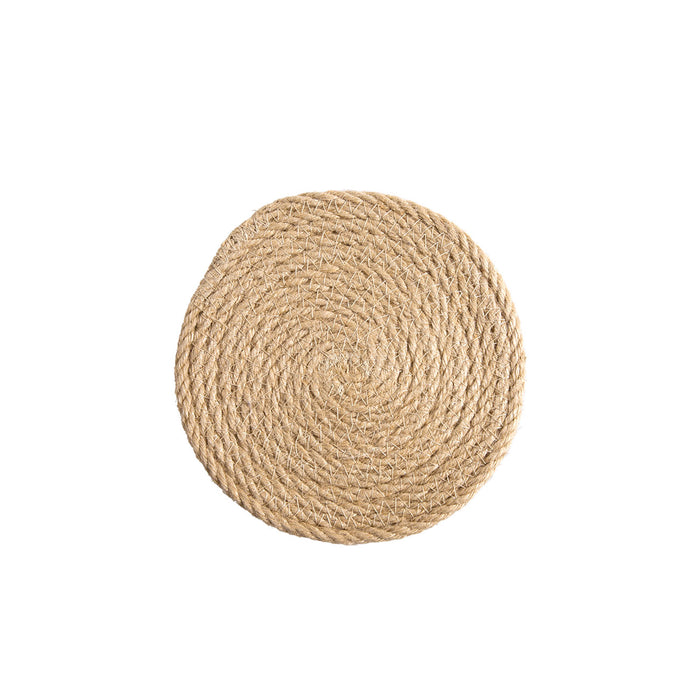 Woven Round Insulated Placemat