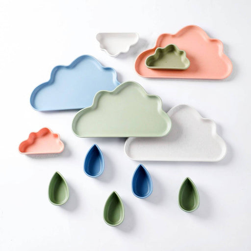 Cloud Shaped Small Dinner Plate