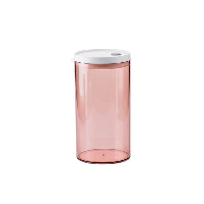 Clear Wide-Mouth Plastic Food Jars