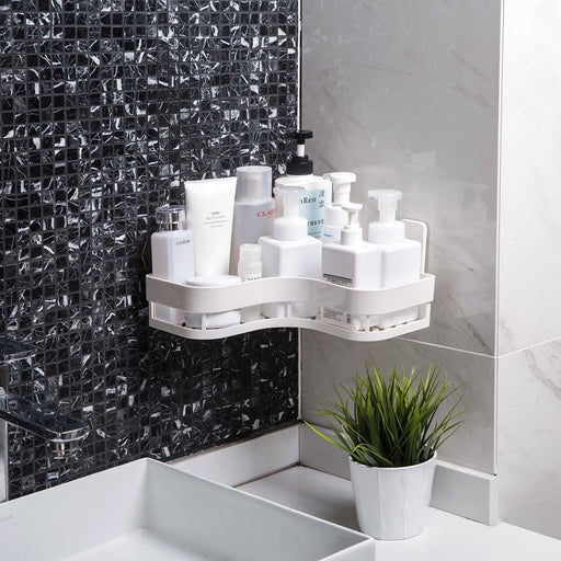 Bathroom Triangle Drain Storage Rack