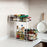 3pcs Multifunction Double Pullable Layer Kitchen Shelf