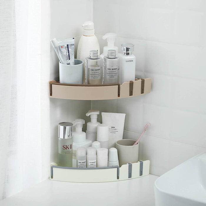 Multifunctional Triangle Bathroom Shelf