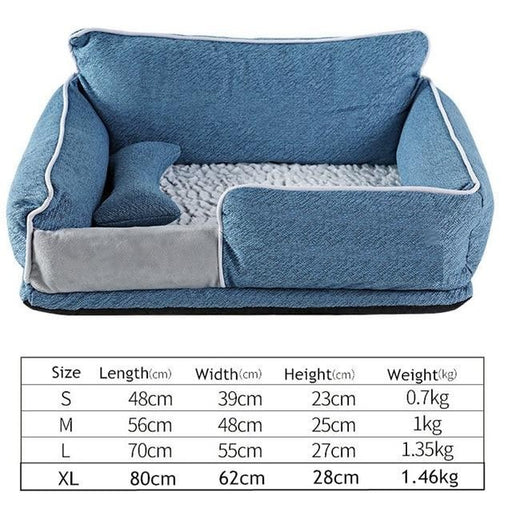 Dog & Cat Beds Warm Sleeping Cotton  Washable Detachable Waterproof Oxford Cloth Kennel