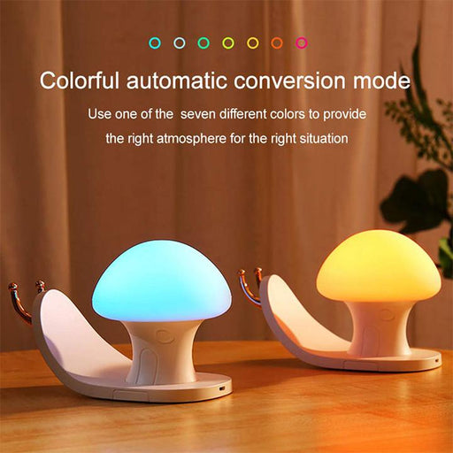 Snail Night Light With Cell Phone Stand