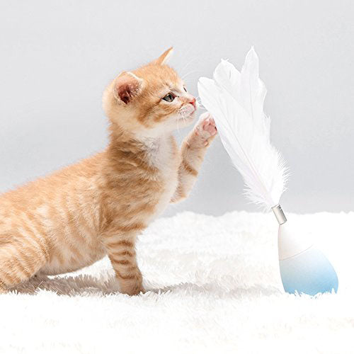 Studio Roly-Poly Feather Teaser Cat Toy