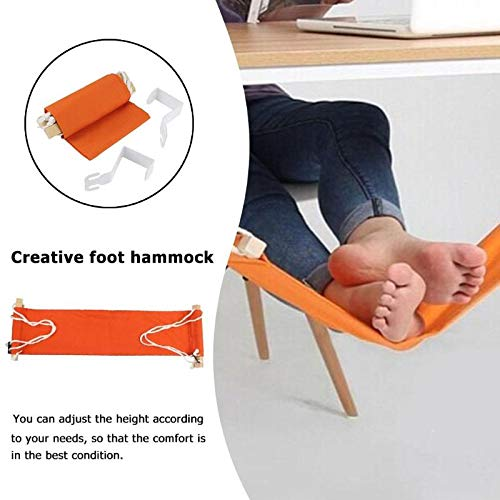 Portable Adjustable Foot Rest Hammock