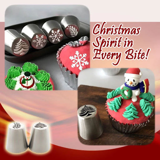 Christmas Nozzles Pastry Set