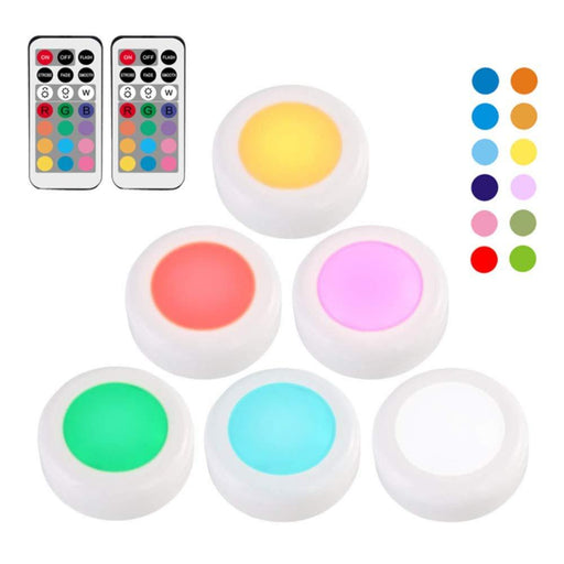 Portable Remote Controller Color Changing Light