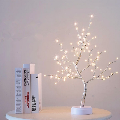 Artificial Bonsai Tree Light LED Tabletop