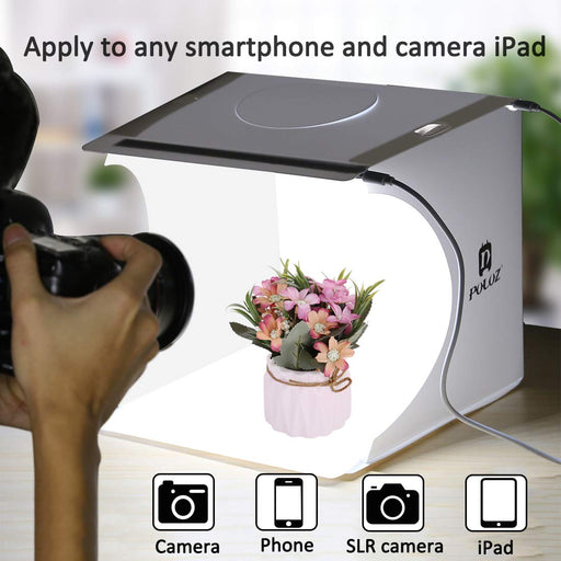 Portable Foldable Photo Studio Box with LED Light