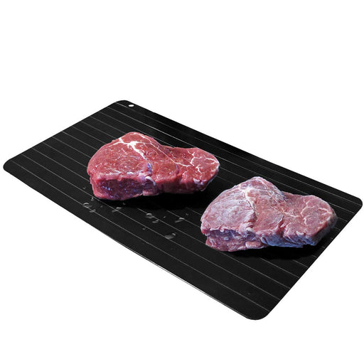 Frozen Food Defrosting Tray Black