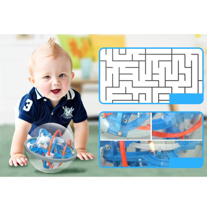 Alpha Obstacle 3D Puzzle Ball