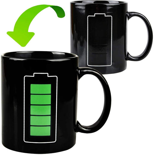 Battery Charging Magic Mug