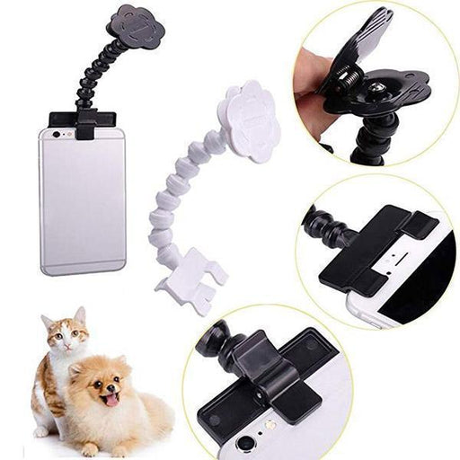 Pet Selfie Stick Treat Holder