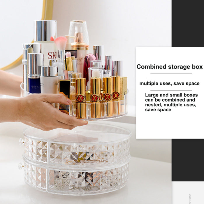360 Degrees Rotating Cosmetic Storage Box