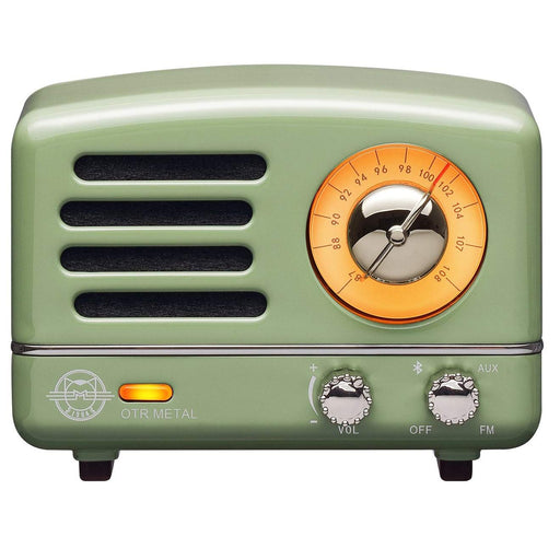Classic Vintage Audio FM Radio & Bluetooth Speaker