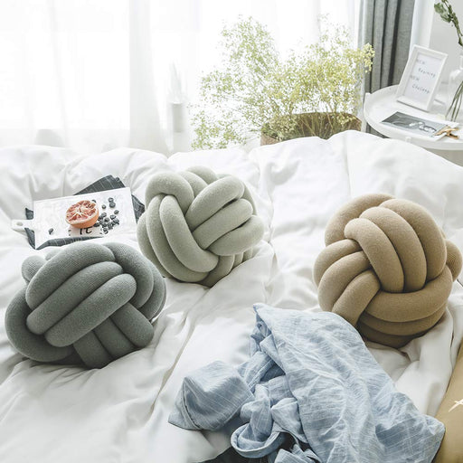 Knot Ball Pillow Household