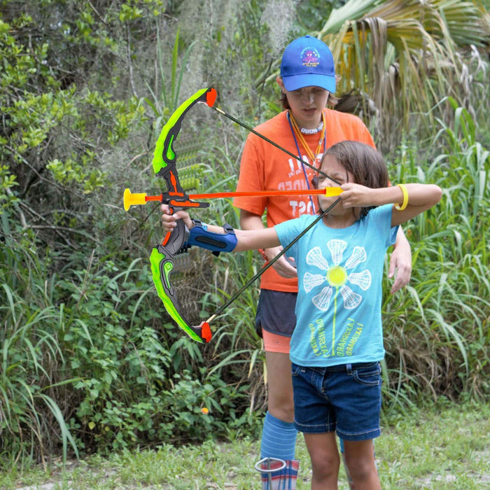 Bow And Arrow For Kids With LED Flash Lights
