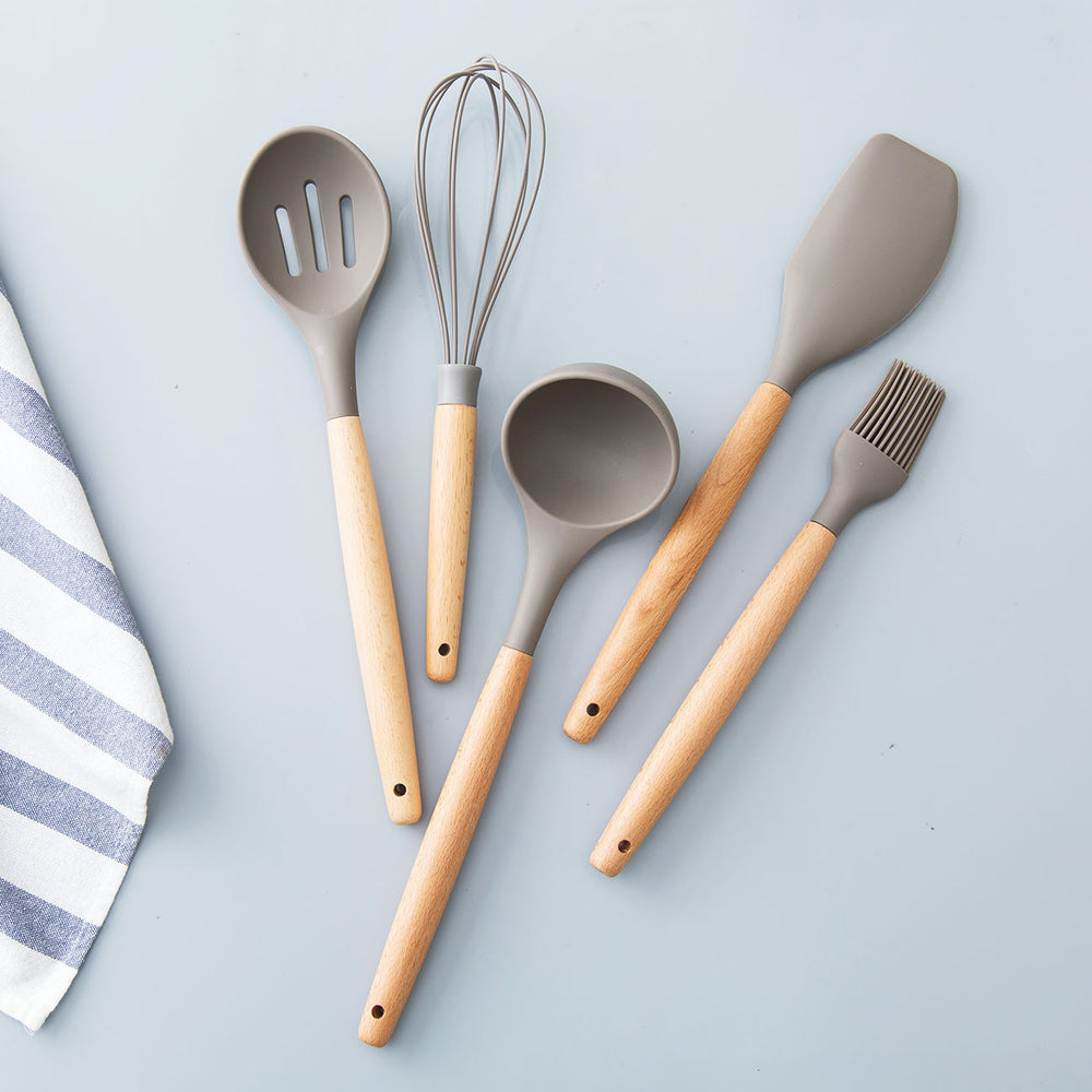 4PCS Kitchen Silicone Utensil Set