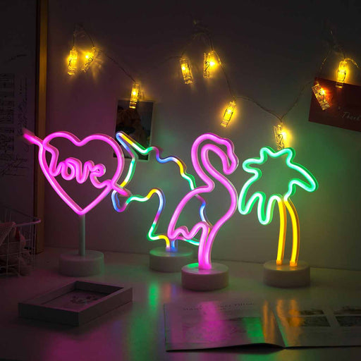 LED Neon Signs Desk Decorations Lamp