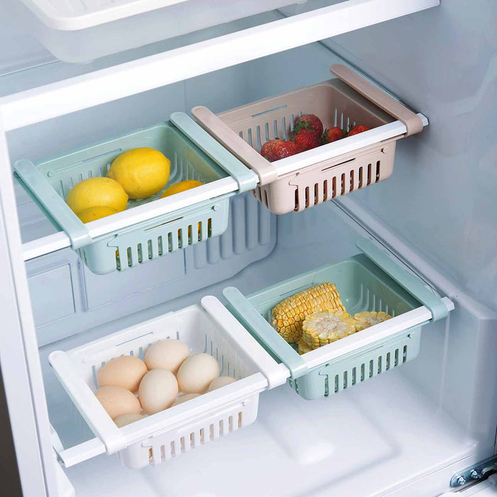 Fridge Drawer Pull Out Organizer