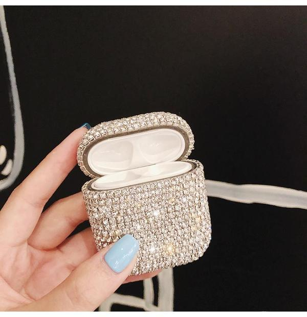 3D Bling diamonds Airpods Case