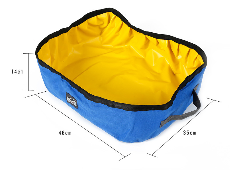 Collapsible Portable Foldable Pet Litter Box