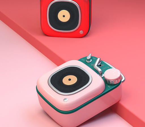 Classic Vintage Portable Audio Bluetooth Speaker