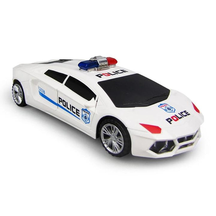360-Direction Light-up Musical Toy Police Car