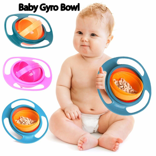 Magic NO Spills Baby Gyro Bowl