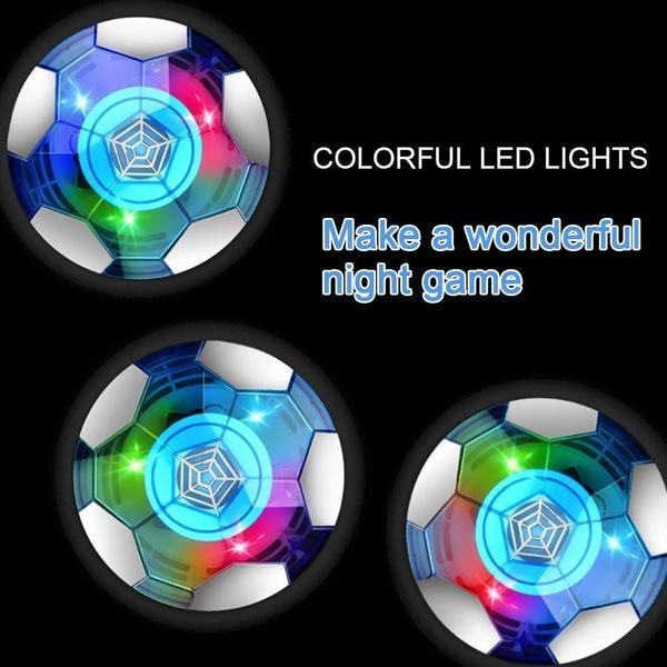 LED Lighted Music Air Hover Football