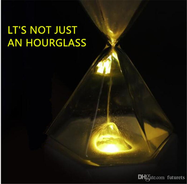 Creative Diamond Hourglass Lamp