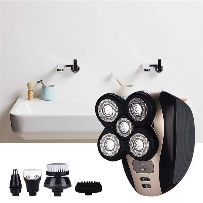 5 in 1 Easy Electric Head Shaver