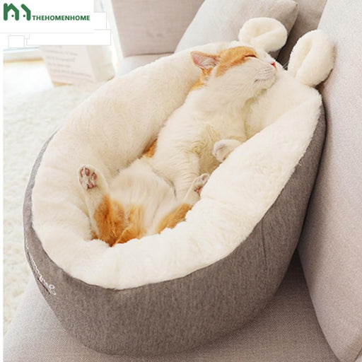 Cat & Dog Warm Basket Bed Cat House Kennel