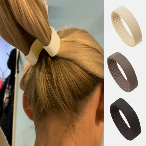 Woman Ponytail Holder Hair Tie Foldable scrunchies